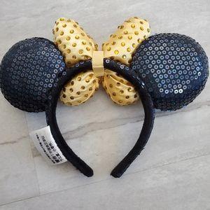 Disney Accessories - DISNEY PARKS Mickey Minnie Ears sequin & jewels